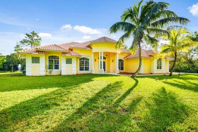 Jupiter Single Family Home For Sale: 11208 161st Street