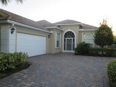 Port Saint Lucie Single Family Home For Sale: 10641 SW Stratton Drive