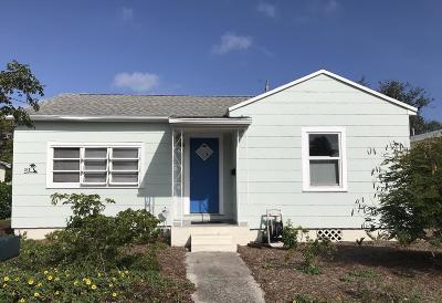 Lake Worth Single Family Home For Sale: 318 Princeton Drive