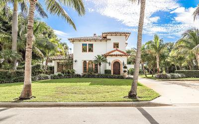 West Palm Beach Single Family Home For Sale: 212 E Lakewood Road