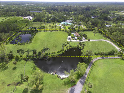 Loxahatchee Groves Single Family Home For Sale: 3604 C Road