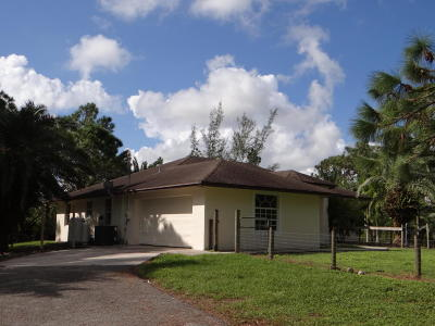 Acerage, Acreage, Acreage & Unrec, Acreage& Unrec, Acreage&unrec, Acreage, Loxahatchee, Acreage/Royal Ascott, Areage, Loxahatchee, Loxahatchee/Acreage, Royal Ascot Estates, Royal Palm Beach Acreage, The Acreage, The Acreage/Loxaha, Acarage Single Family Home For Sale: 15820 92nd Court