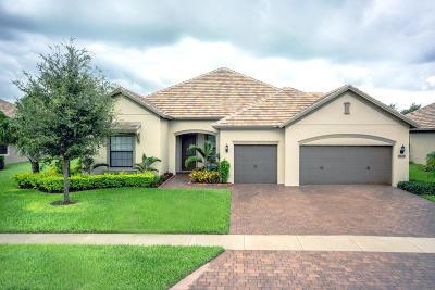 Wellington Single Family Home For Sale: 4615 Siena Circle