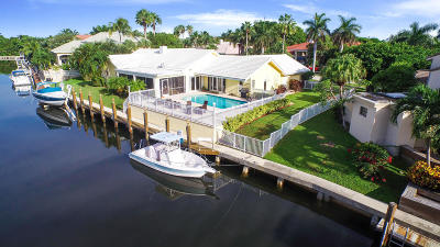 Boca Raton Single Family Home For Sale: 800 NE Orchid Bay Drive