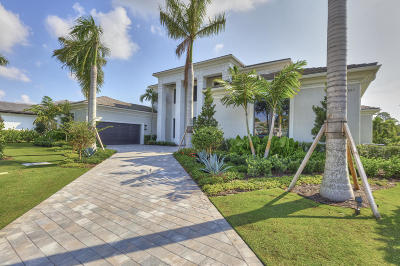 Palm Beach Gardens FL Single Family Home For Sale: $4,600,000
