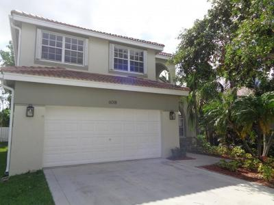Lake Worth Single Family Home For Sale: 6018 Newport Village Way