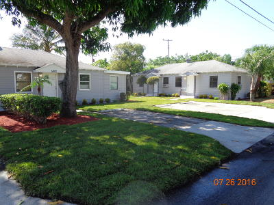 West Palm Beach Multi Family Home For Sale: 5000 Webster Avenue