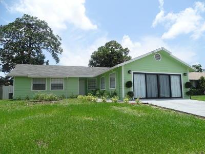 West Palm Beach Single Family Home For Sale: 5131 El Claro Cir.