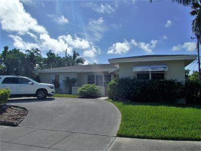 Lake Worth Single Family Home For Sale: 1843 17th Court