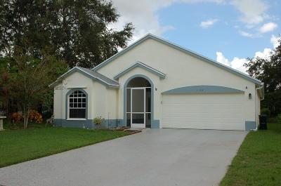 Wellington Single Family Home For Sale: 1368 Lake Breeze Drive