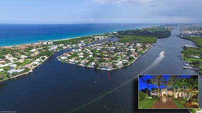 Broward County, Palm Beach County Single Family Home For Sale: 53 Spanish River Drive