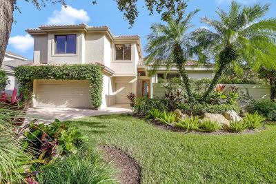 Palm Beach Gardens Single Family Home For Sale: 3723 Toulouse Drive