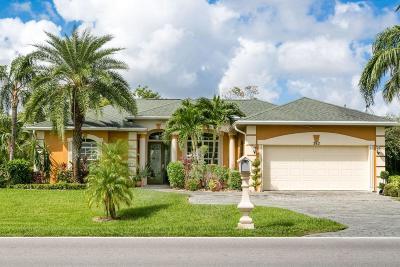 Port Saint Lucie Single Family Home For Sale: 582 NW Bayshore Boulevard