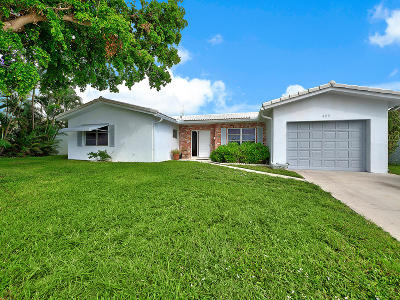 Deerfield Beach Single Family Home For Sale: 429 SE 3rd Street