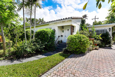 Palm Beach Single Family Home For Sale: 224 Mediterranean Road