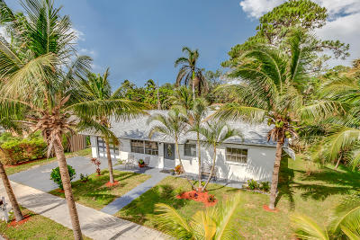 Lake Worth Single Family Home For Sale: 1762 16th Avenue