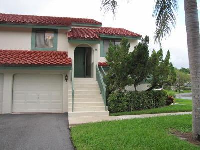 Palm Beach Gardens Condo For Sale: 24 W Lexington Lane #H