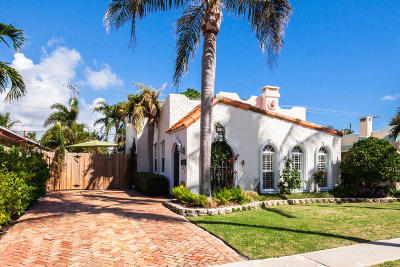 West Palm Beach Single Family Home For Sale: 235 Nottingham Boulevard