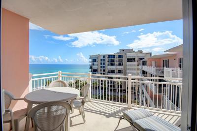 Highland Beach Condo For Sale: 2921 S Ocean Boulevard #705