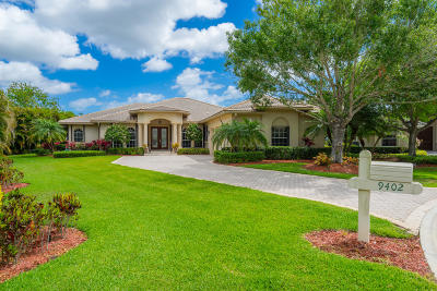 Fort Pierce Single Family Home Contingent: 9402 Pinebark Court