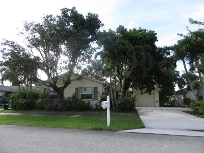 Lake Worth Single Family Home For Sale: 7444 Pine Park Dr S Drive S