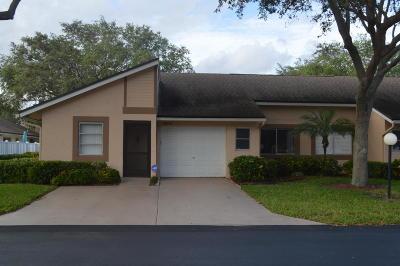Boca Raton Single Family Home For Sale: 8681 Flamingo Drive #C