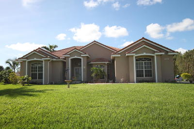 West Palm Beach Single Family Home For Sale: 12078 76th Road