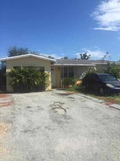 Boynton Beach Single Family Home For Sale: 2122 NE 1st Street