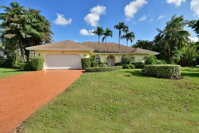 Boynton Beach Single Family Home For Sale: 4228 Pine Cone Lane