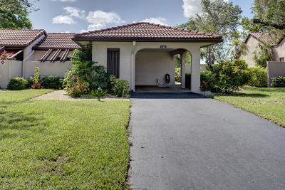 Boca Raton Single Family Home For Sale: 21481 Cypress Hammock Drive #31b