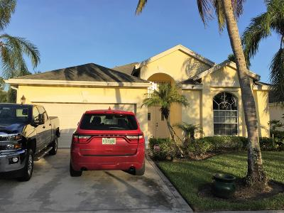 West Palm Beach Single Family Home For Sale: 296 Saratoga Boulevard E