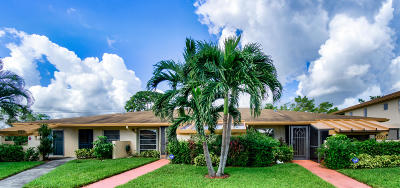 Delray Beach Single Family Home For Sale: 13233 Lucinda Palm Court #C