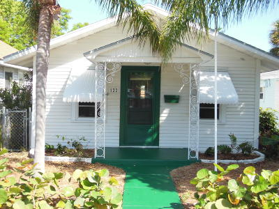 Lake Worth Single Family Home For Sale: 122 S K Street