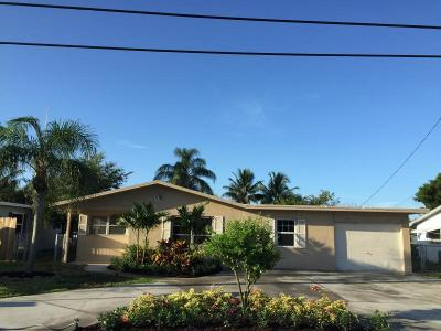 Boynton Beach Single Family Home For Sale: 1060 Old Boynton Road