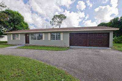 Lake Worth Single Family Home For Sale: 31 W Palmetto Road