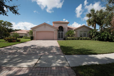 Boynton Beach Single Family Home For Sale: 11021 Malaysia Circle