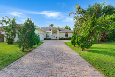 Boynton Beach Single Family Home For Sale: 716 NW 1st Avenue
