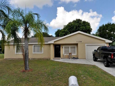 Port Saint Lucie Single Family Home For Sale: 3258 SW Ronlea Court