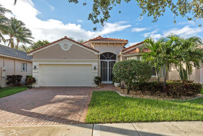 Boynton Beach Single Family Home For Sale: 7584 New Holland Way