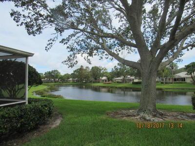 Port Saint Lucie Single Family Home For Sale: 1217 NW Sun Terrace Circle #C