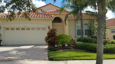 Port Saint Lucie Single Family Home For Sale: 345 NW Toscane Trail