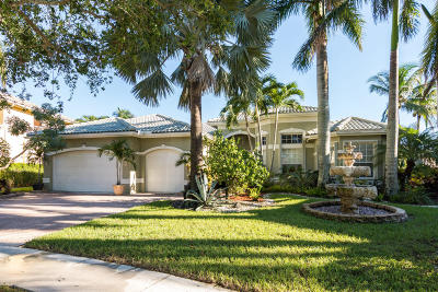 Delray Beach Single Family Home For Sale: 9624 Savona Winds Drive