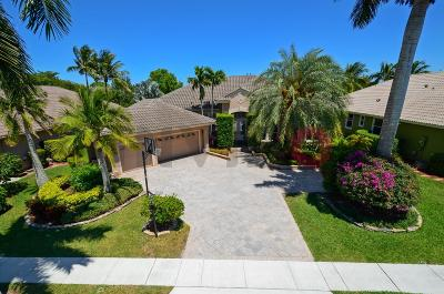 Boca Raton Single Family Home For Sale: 21636 Marigot Drive