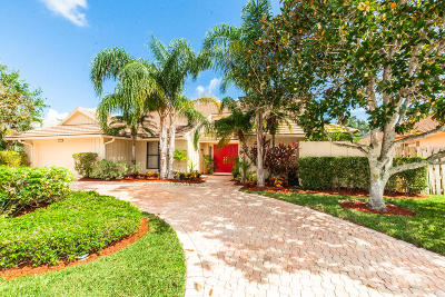 Palm Beach Gardens Single Family Home For Sale: 12949 Calais Circle