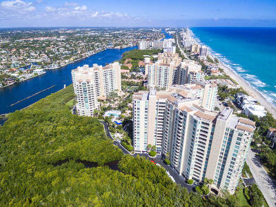 Highland Beach Condo For Sale: 3720 S Ocean Boulevard #408