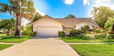 Boca Raton Single Family Home For Sale: 19867 Back Nine Drive