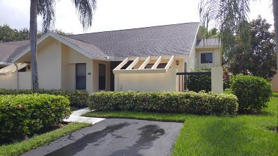 Boca Raton Single Family Home For Sale: 10956 Water Oak Manor