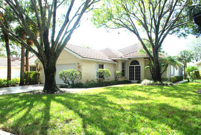 Palm Beach Gardens Single Family Home For Sale: 174 E Tall Oaks Circle