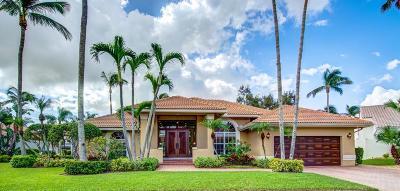 Boca Raton Single Family Home For Sale: 6710 Newport Lake Circle