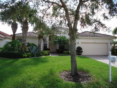 Port Saint Lucie Single Family Home For Sale: 464 NW Blue Lake Drive